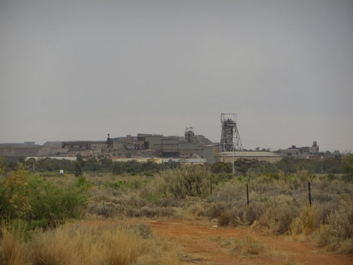 The approach to Broken Hill