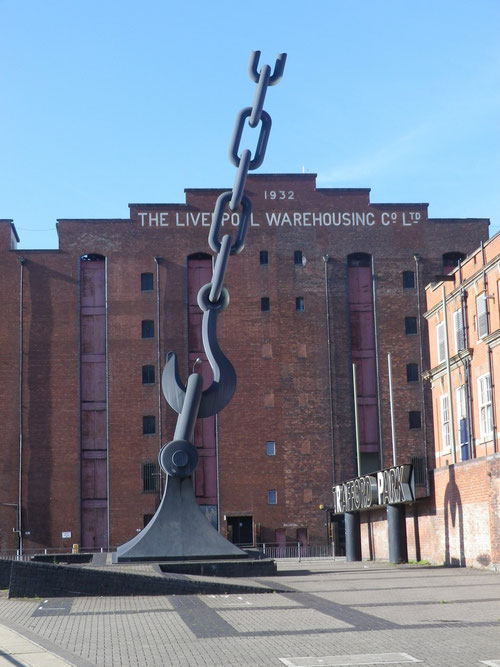 Liverpool Warehose, in Manchester