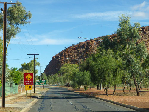 The road out of darwin