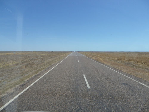 The road to Karrumba