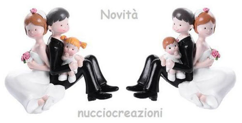 cake topper con baby