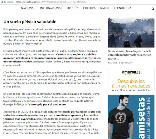 Dossier Suelo Pélvico Clínica Fisia