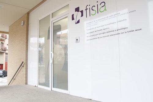 Fachada de Clínica Fisia, clínica de fisioterapia en Tafalla (Navarra). Especializada en fisioterapia del Suelo Pélvico, Fisioterapia Traumatológica, Fisioterapia Deportiva y Drenajes Linfáticos.