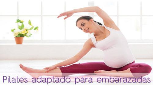 Embarazada realizando ejercicios de Pilates en Clínica Fisia, fisioterapeuta especializada en embarazo