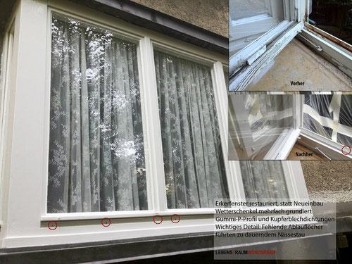 Renovieren: Alte Fenster wieder voll funktionsfähig - Lebenstraum Wunderbar