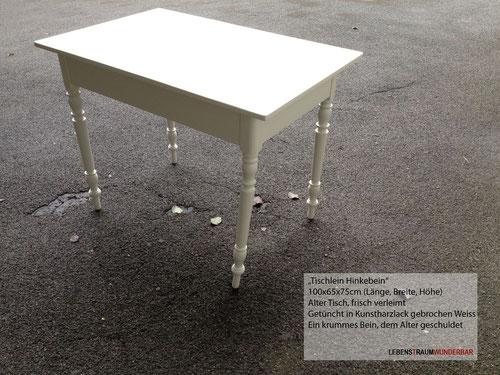 Lebenstraum Wunderbar - Tischlein Hinkebein