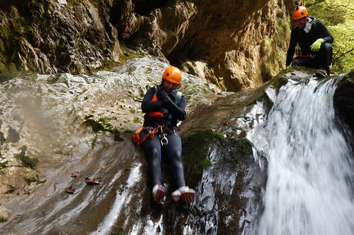 Canyoning (torrentismo) in Val D'Arzino