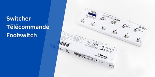 Switcher, Télécommande, Remote control, Switching system, DESS,