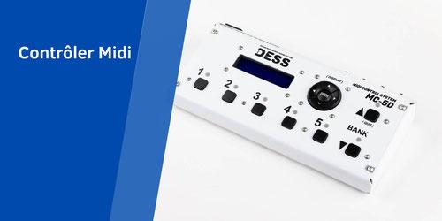 Controler Midi, Brain Midi, Cerveau midi, Gestion événement Midi, Midi Merger