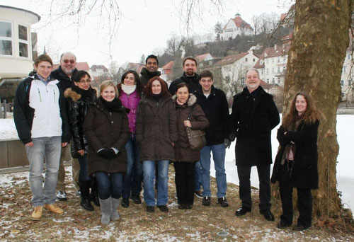 TATI Group February 2012 next to the frozen Neckar river.