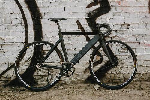 Dieses Fahrrad wurde am 7.12. um 11.30 gestohlen.