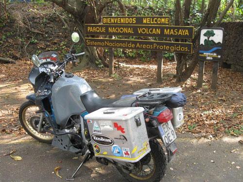 In Nicaragua am Vulcano MASAYA