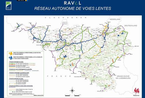 En Belgique, RAVeL