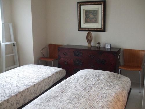 センスのいい寝室