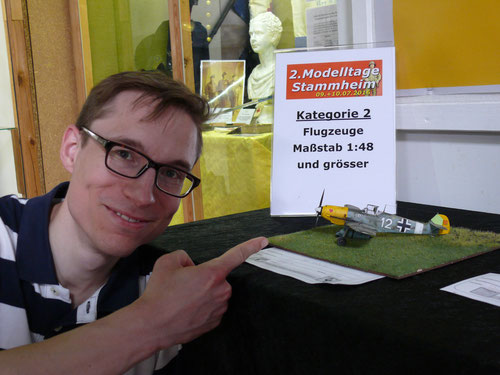 Florian und seine Messerschmitt BF 109 - Junghans BO-UK-1