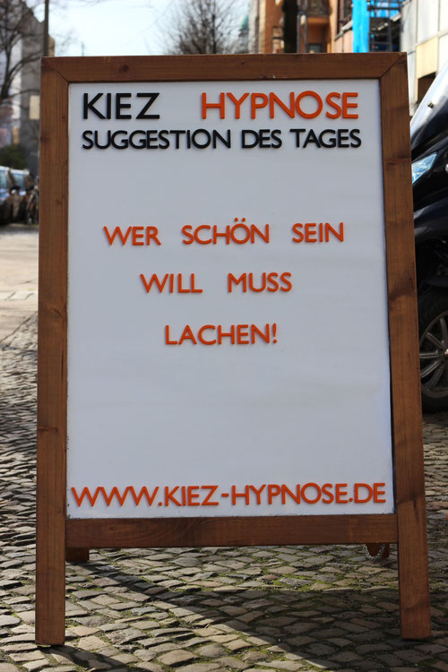 Suggestion des Tages Lachen