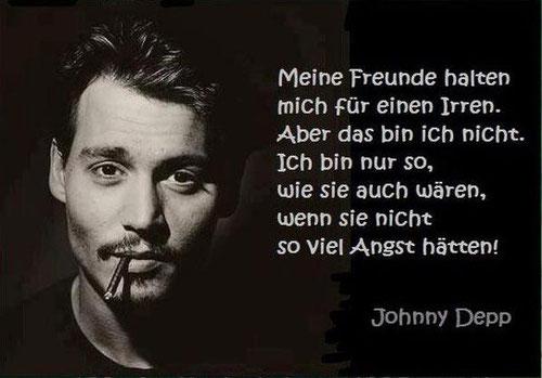 Johanny Depp Angst