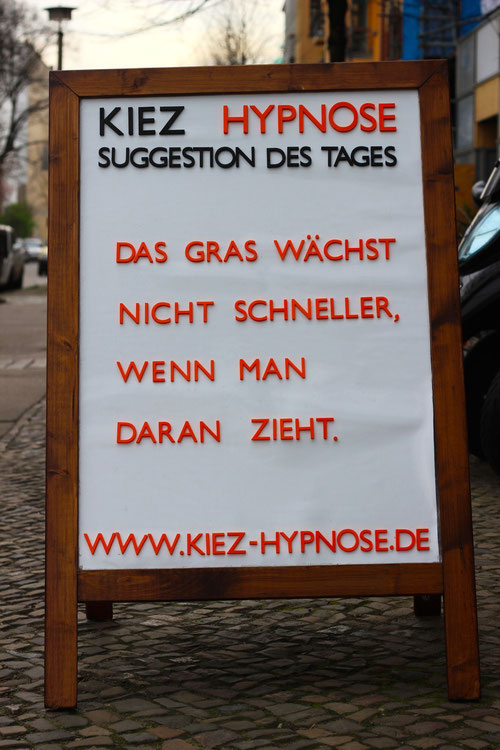 Suggestion Gras wachsen