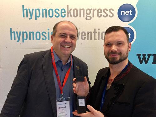 Hypno-Innovation Award Bernhard Tewes HypnoBox Kiez Hypnose