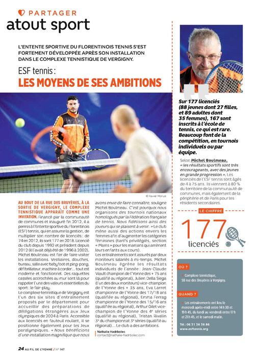AU FIL DE L'YONNE, magazine du département de l'Yonne, avril 2018