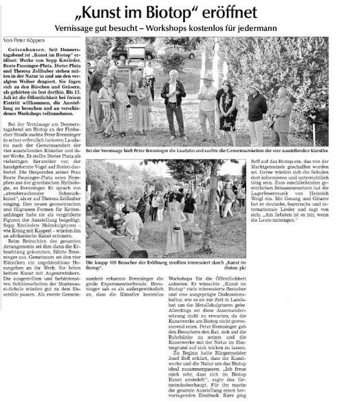 Vilsbiburger Zeitung vom 5.7.2014