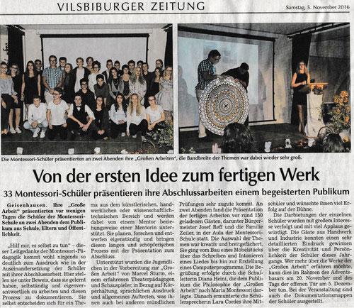 Vilsbiburger Zeitung vom Samstag den 05. November 2016, Seite 18