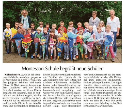 Erschienen u. a. in der Landshuter Zeitung vom 19.9.2014