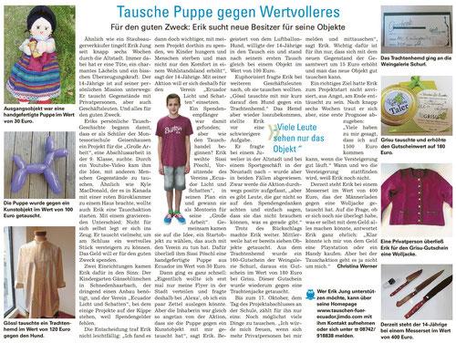 Erschienen in Landshut aktuell am 10.9.2014