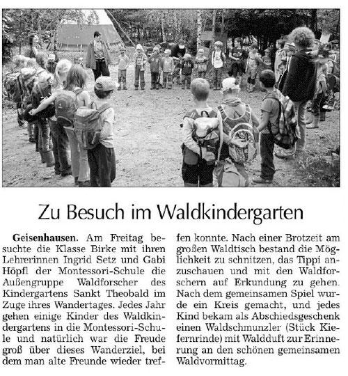Erschienen am 26.9.2014 in der Vilsbiburger Zeitung
