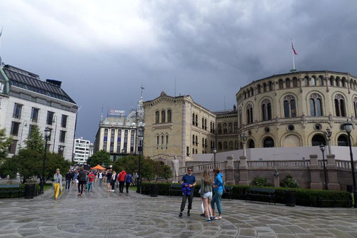 Le parlement (Stortinget)