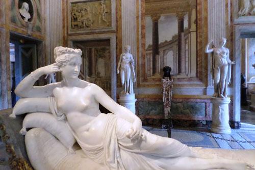 Paolina Borghese Bonaparte par Canova