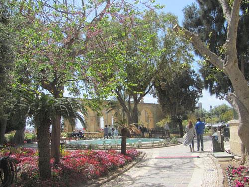 jardins d'Upper Barrakka