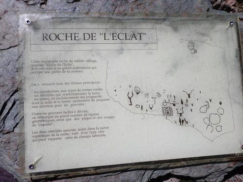 """Roche de """"l'éclat"""""""