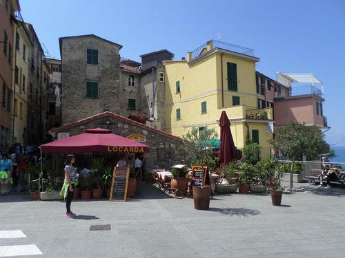 Le centre de Corniglia