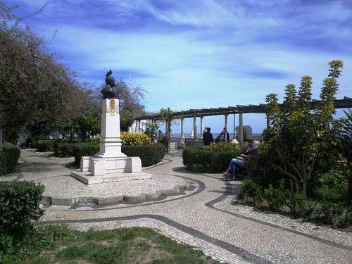 Jardin du miradouro Santa Luzia