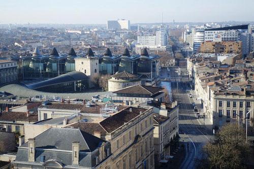 zoom sur le palais de justice