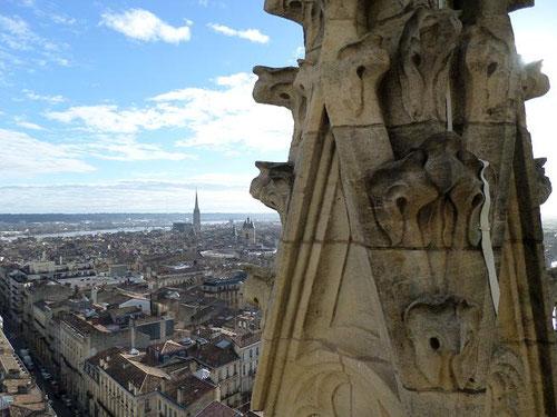 vue de la deuxième terrasse à 50 mètres