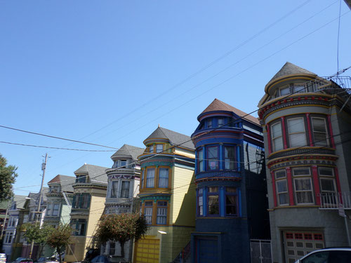 Au croisement de Central Avenue et Haight Street