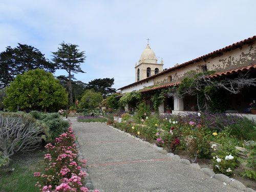 Mission San Carlos de Borromeo datant de 1793