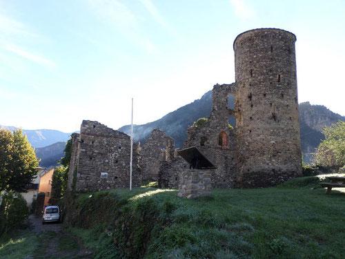 Le Château des Lascaris, ou ce qu'il en reste.