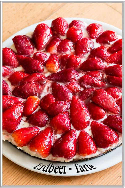 Erdbeer-Tarte  © Jutta M. Jenning