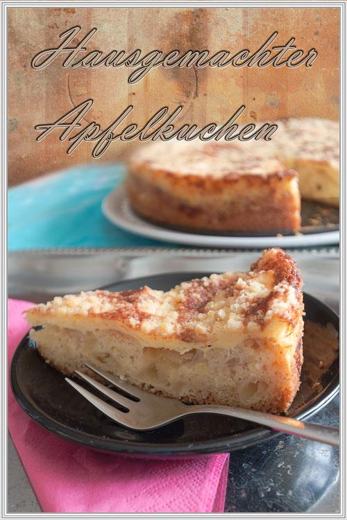 Rezept für einen leckeren hausgemachten Apfelkuchen © Jutta M. Jenning www.mjpics.de
