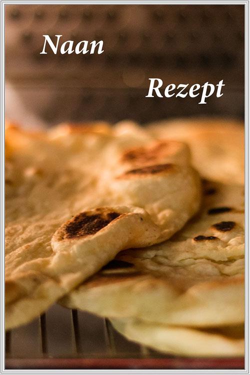 Naan - Indisches Fladenbrot - Rezept © Jutta M. Jenning mjpics