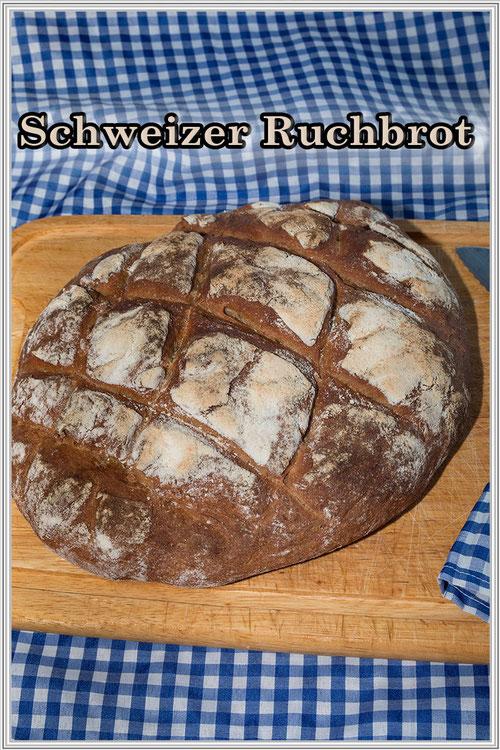 Schweizer Ruchbrot - Rezept/ Bild © Jutta M. Jenning www.mjpics.de