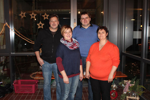 von links: Alexander Stahl, Heike Müller, Alexander Leicht und Anja Schilling