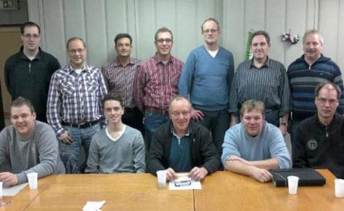 Das Planungsgremium aus Mitgliedern beider Rüthener Schützenvereine hält das gemeinsame Hochfest bereits 2014 für möglich.  -  Foto: Kloer