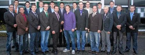 Der Vorstand des St.-Sebastianus-Jungschützenvereins erhielt von seinen Mitgliedern mit knapper Mehrheit den Auftrag, das Hochfest mit denen der Bürgerschützen zu verschmelzen. - Foto: Kloer