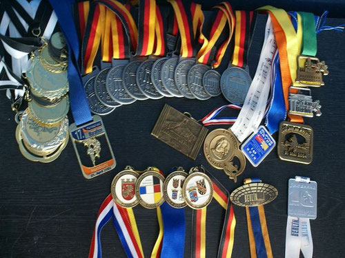 meine kleine sportliche Sammlung und zum Sport
