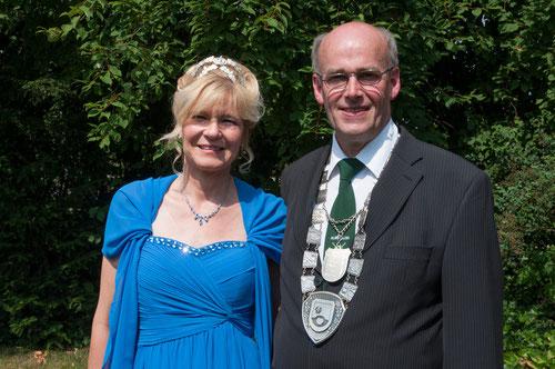 Königspaar 2015 Beatrix Austermann und Karl-Heinz Druffel