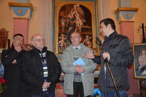 Taranto, 10 gennaio 2016. Momento della serata di chiusura della rassegna. ( Foto di Pasquale Reo ).